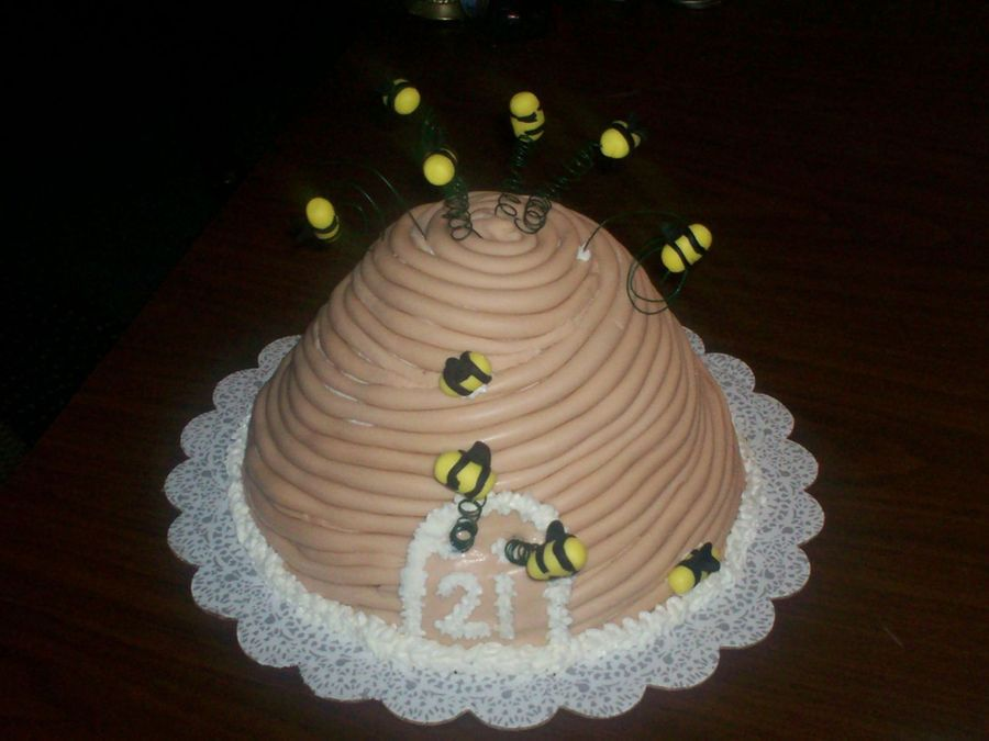 Bumble Bee Hive Cake Pan