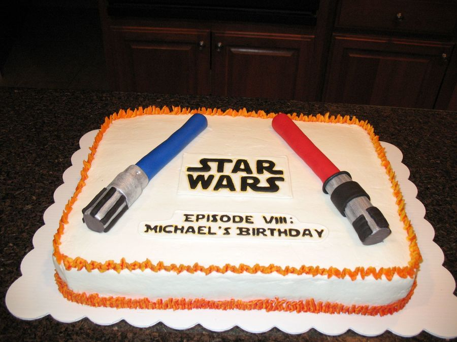 Star Wars Birthday Cake   CakeCentral.com