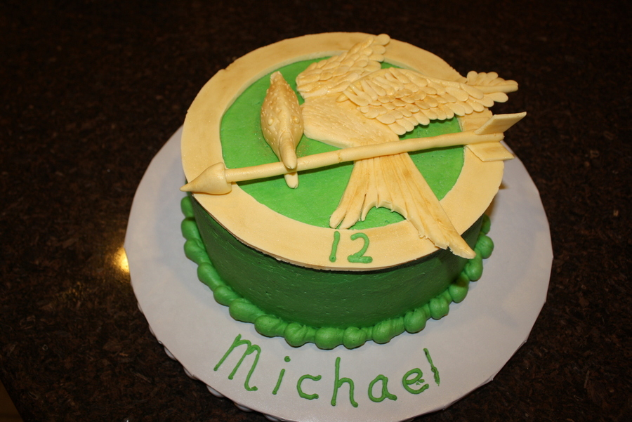 Hunger Games Birthday Cake on Cake Central