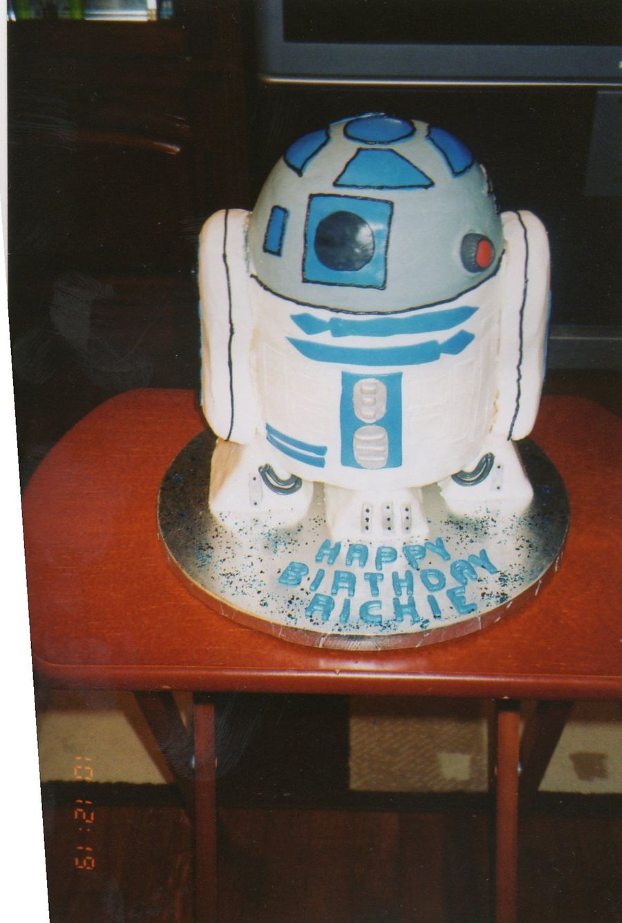 R2d2 Birthday Cakecentral