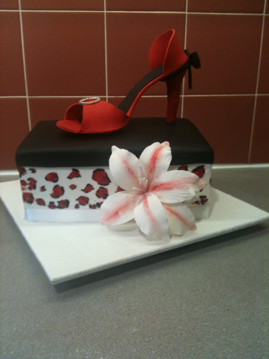 Shoebox Cake on Cake Central