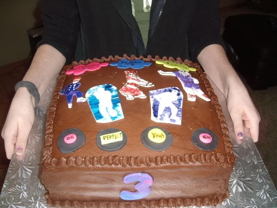 Prime Just Dance Birthday Cake Cakecentral Com Funny Birthday Cards Online Hetedamsfinfo
