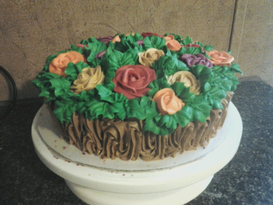 Roses, Roses, Roses on Cake Central