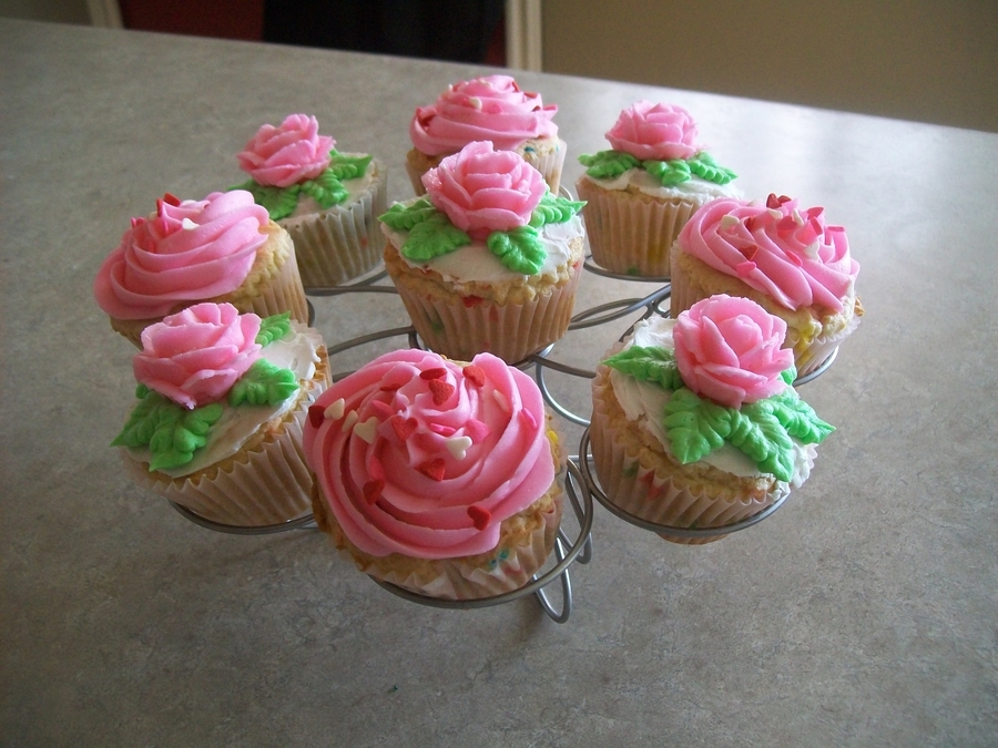 Pink Cupcakes on Cake Central