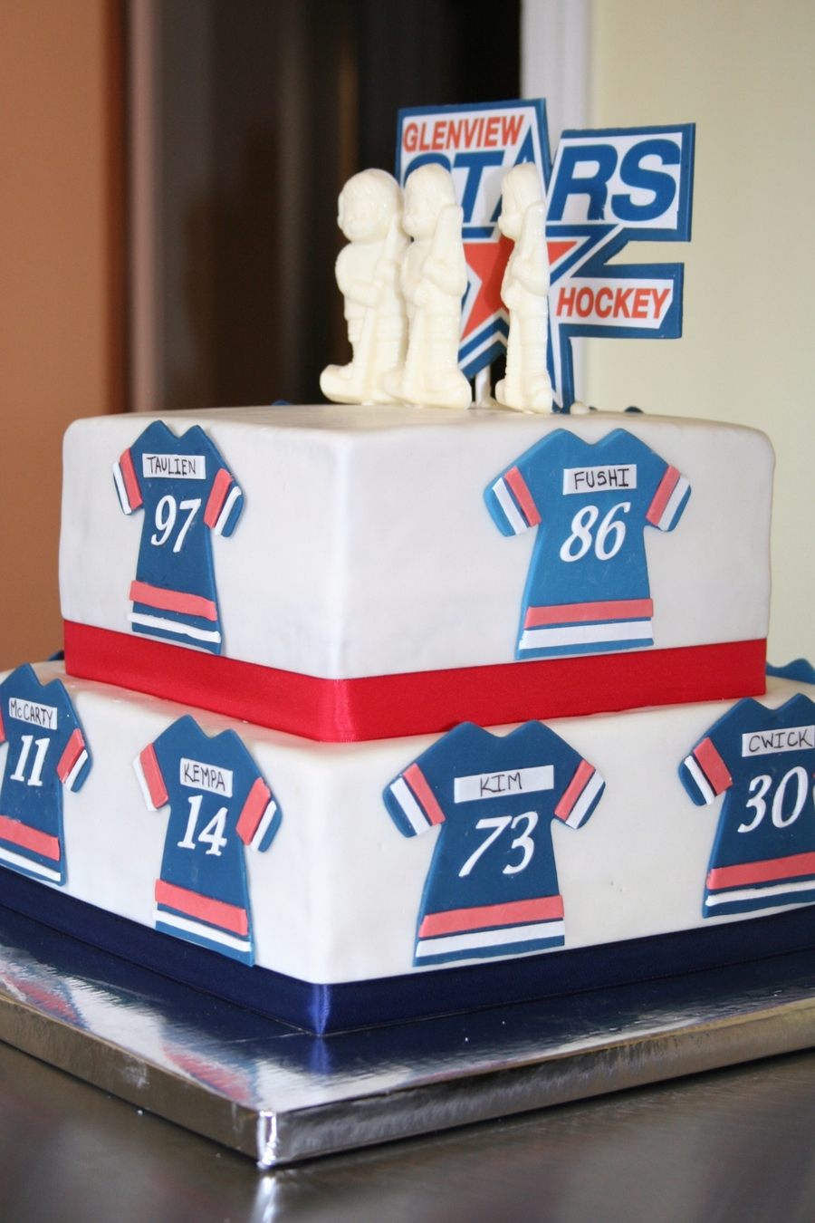 End Of Season Hockey Party on Cake Central