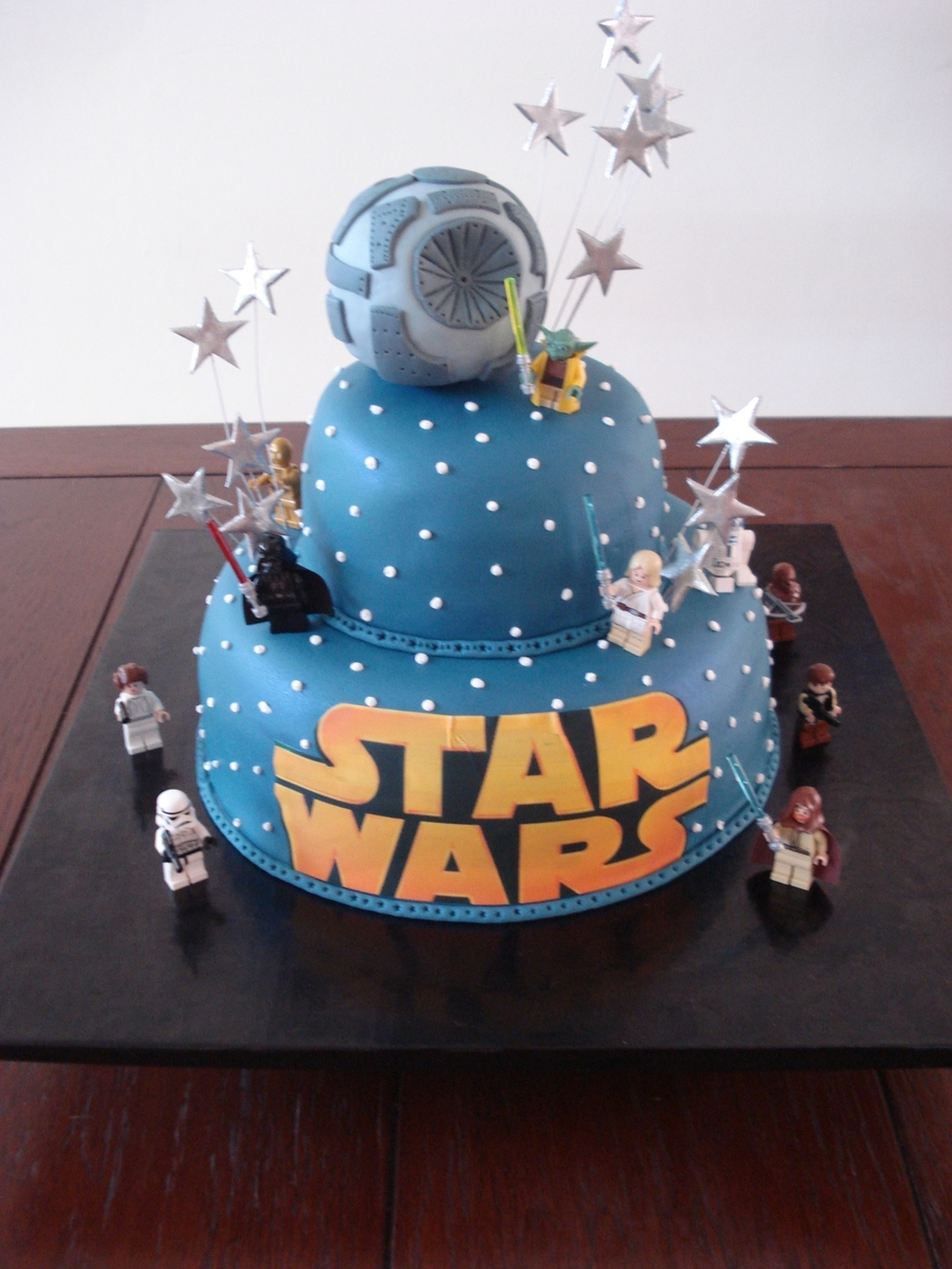 star wars cake decorations wars cake cakecentral 7672