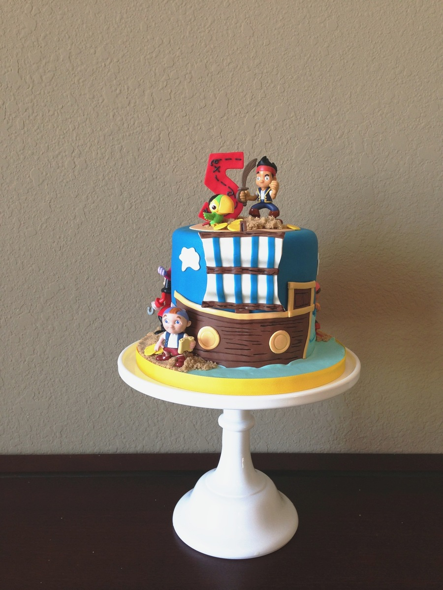 Jake And The Neverland Pirates Birthday Cake CakeCentralcom