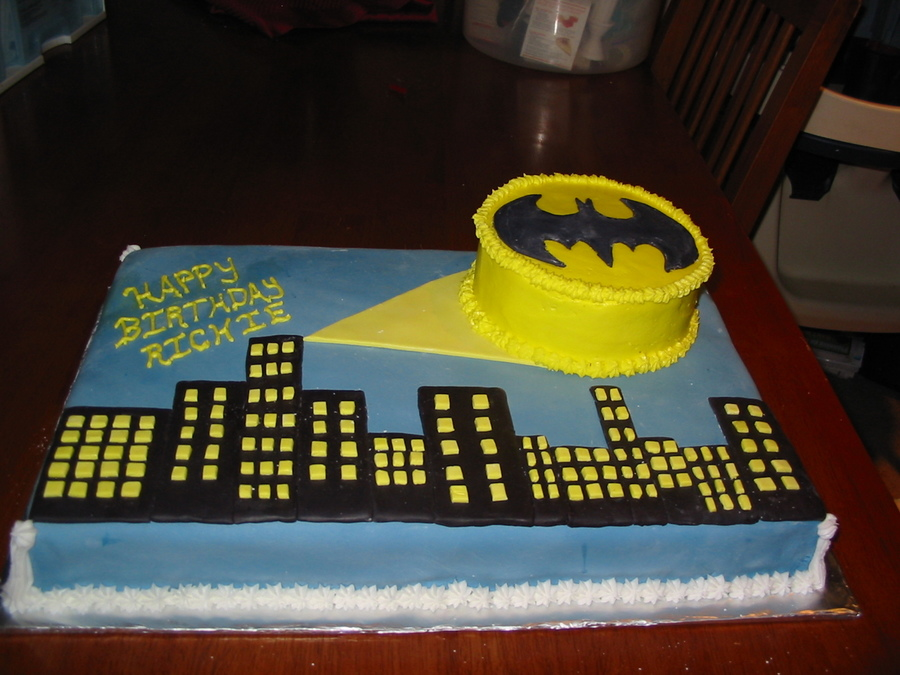 Batman 1St Birthday on Cake Central