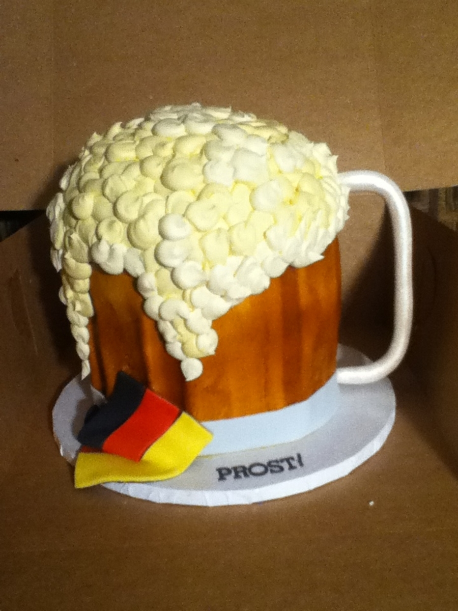 Beer Stein on Cake Central