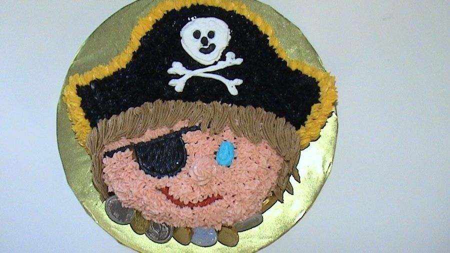 Pirate Smash Cake on Cake Central
