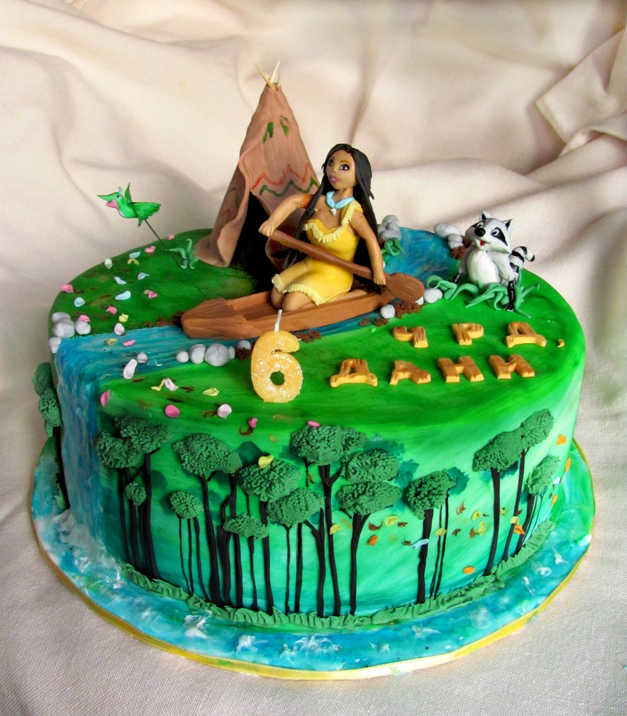 American Indian Birthday Cake