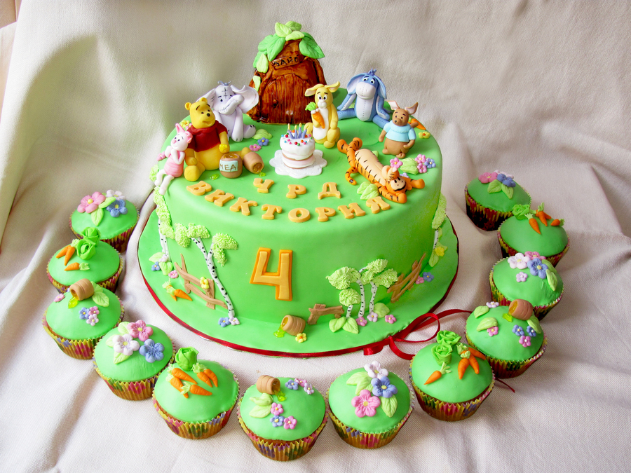 Pooh And Friends on Cake Central