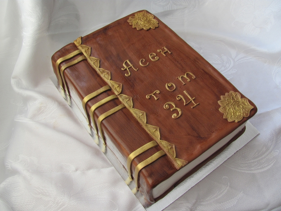 Book Cake on Cake Central