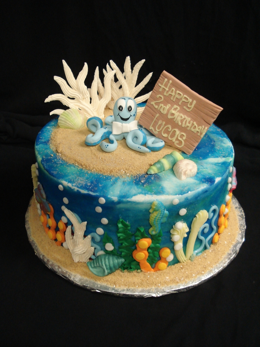 Sea Baby on Cake Central