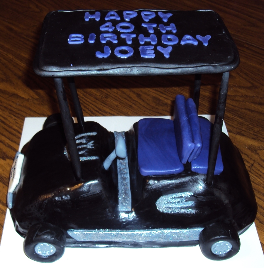 Golf Cart on Cake Central