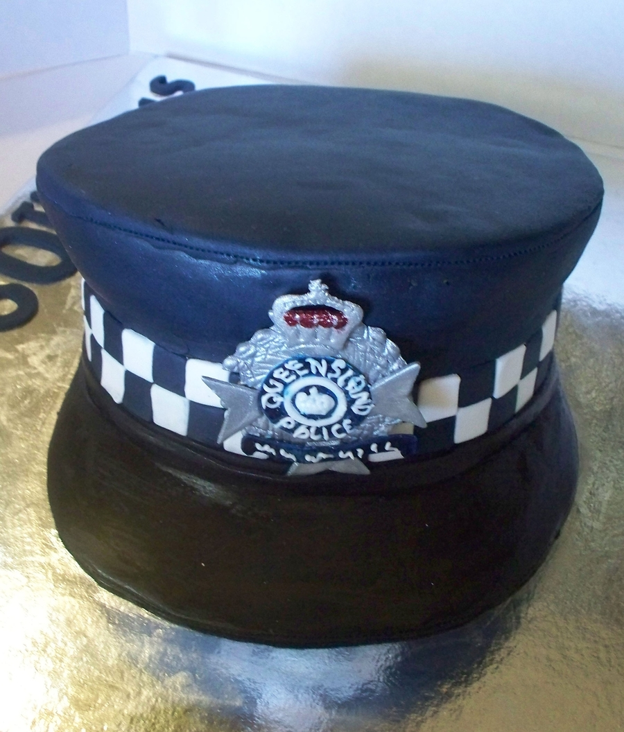 Police Officer Cake Decorations
