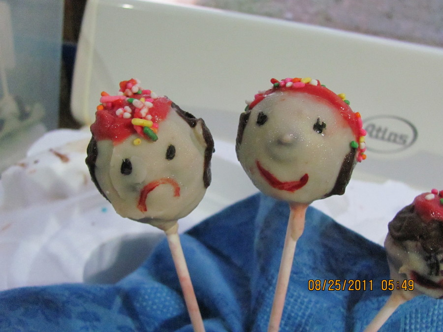 Pirate Cake Pops  on Cake Central