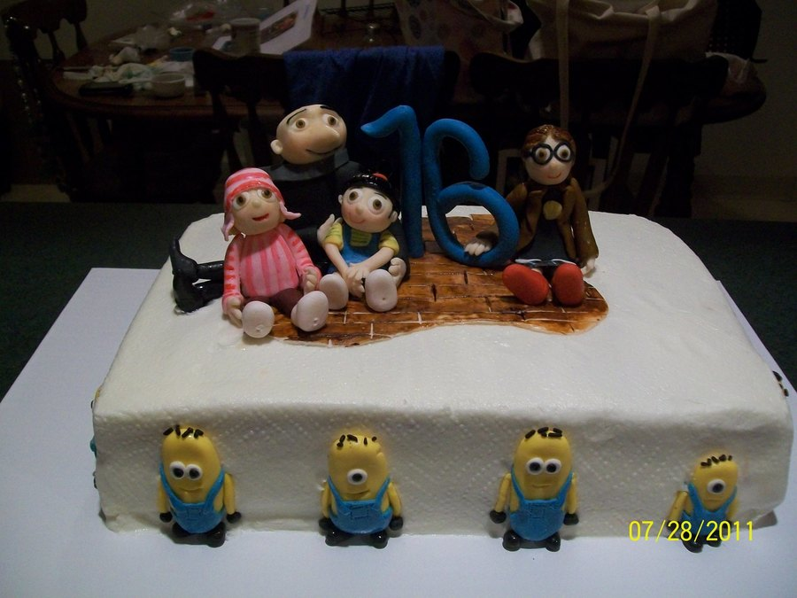 Despicable Me Theme on Cake Central