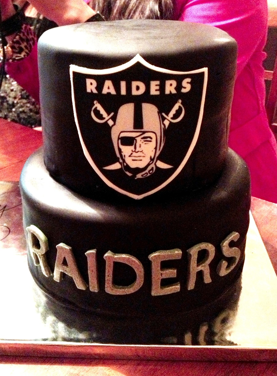 Raiders on Cake Central