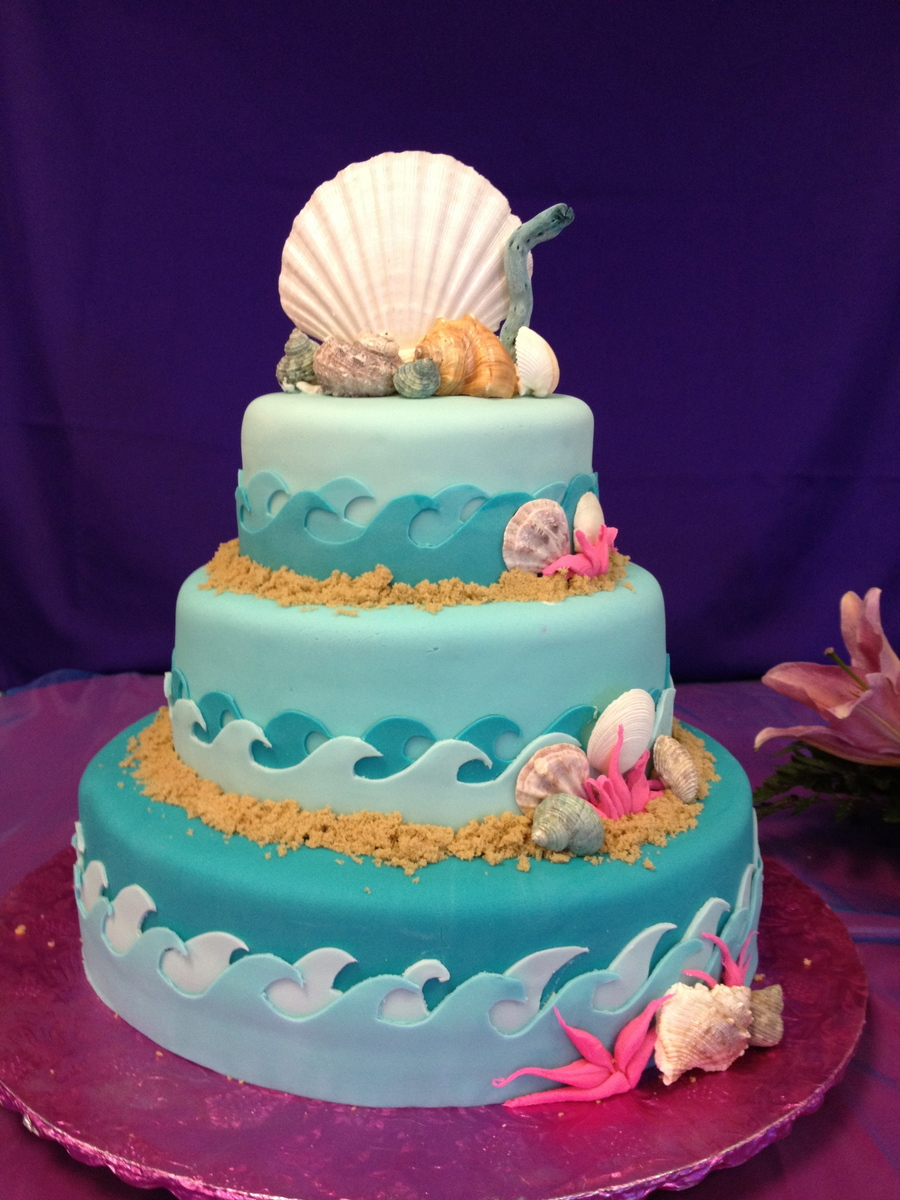 Under The Sea Quinceanera Cake on Cake Central