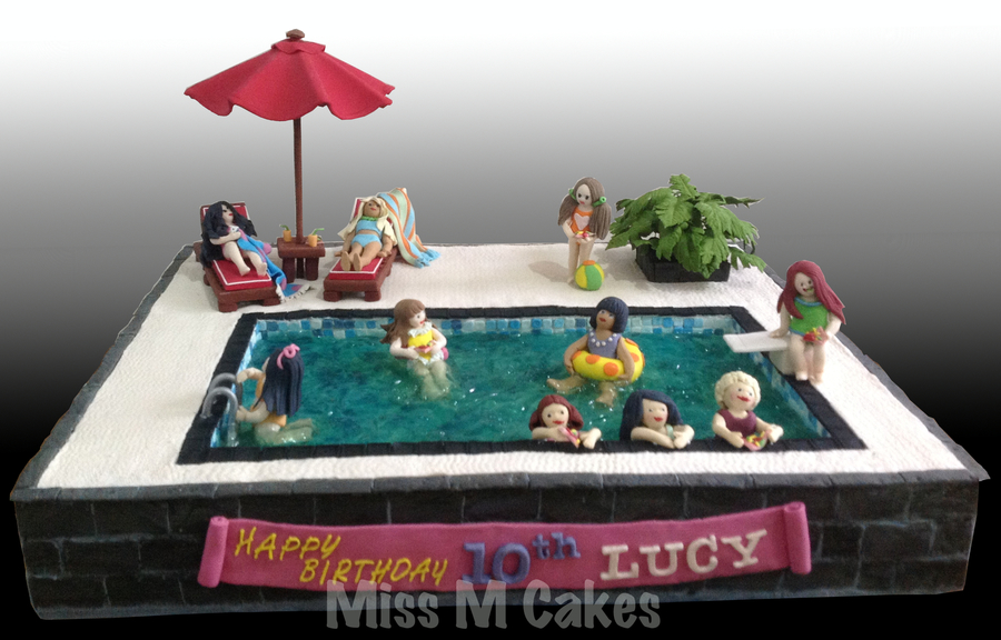 Swimming Pool Cake Cakecentral