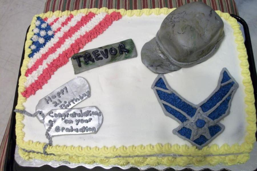 Us Air Force Basic Training Graduation on Cake Central