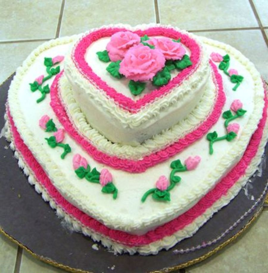 Hearts And Roses on Cake Central