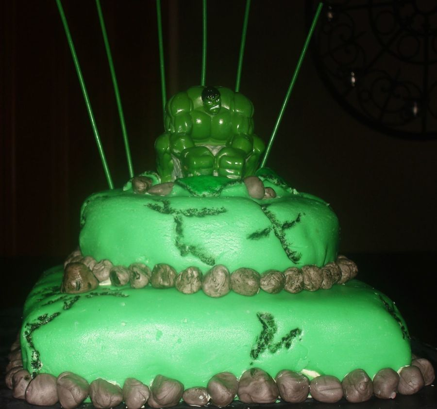 Incredible Hulk on Cake Central