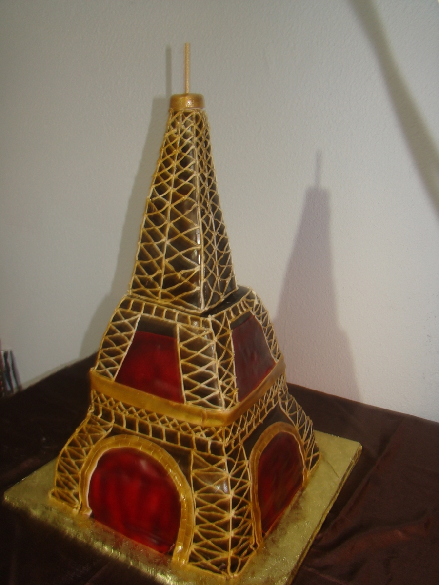 Eiffel Tower  on Cake Central