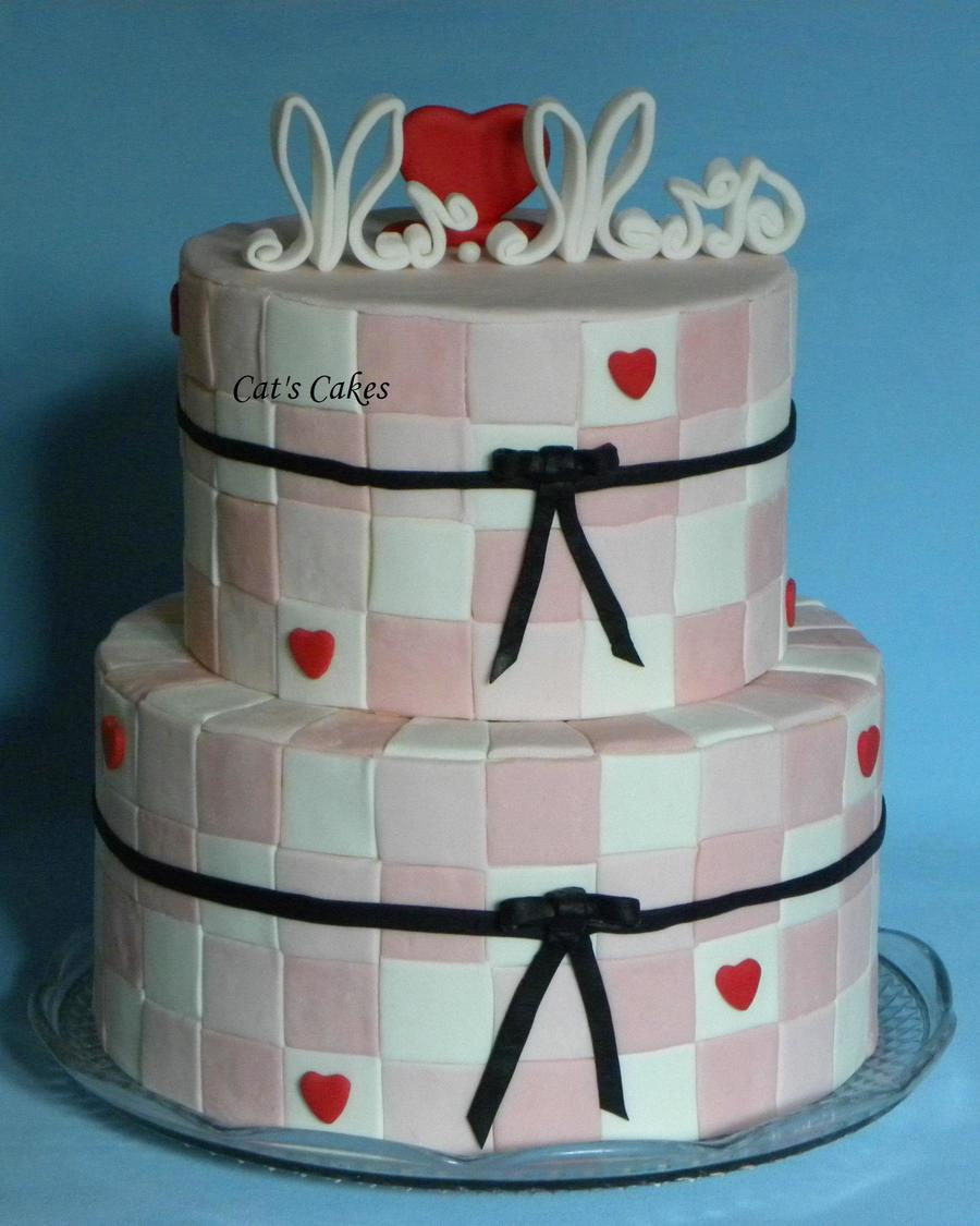 True Love Wedding Cake on Cake Central