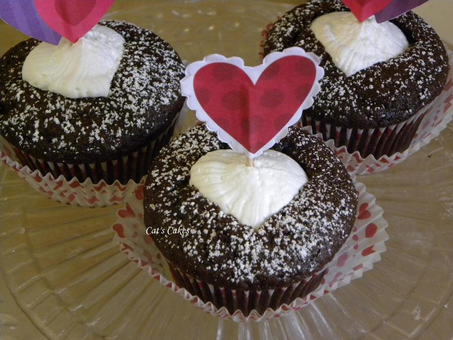 Icing Heart Valentine's Day Cupcakes on Cake Central