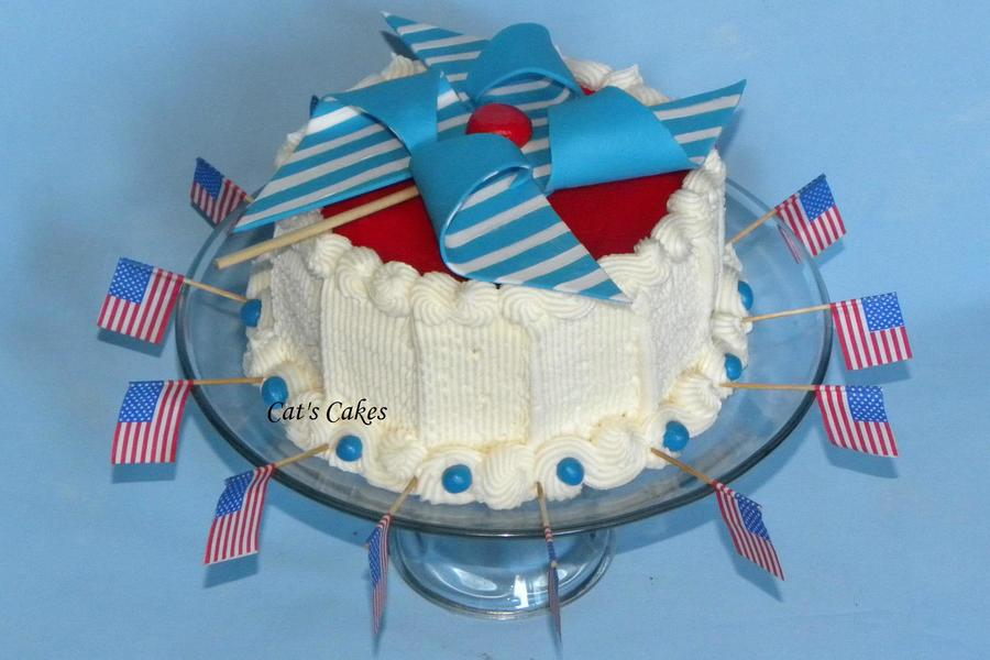 4Th Of July Pinwheel Cake  on Cake Central