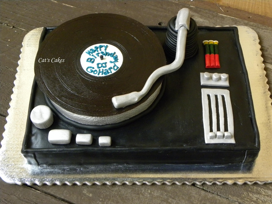 Dj Turntable Cake on Cake Central