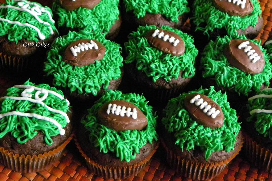 Super Bowl Cupcakes on Cake Central
