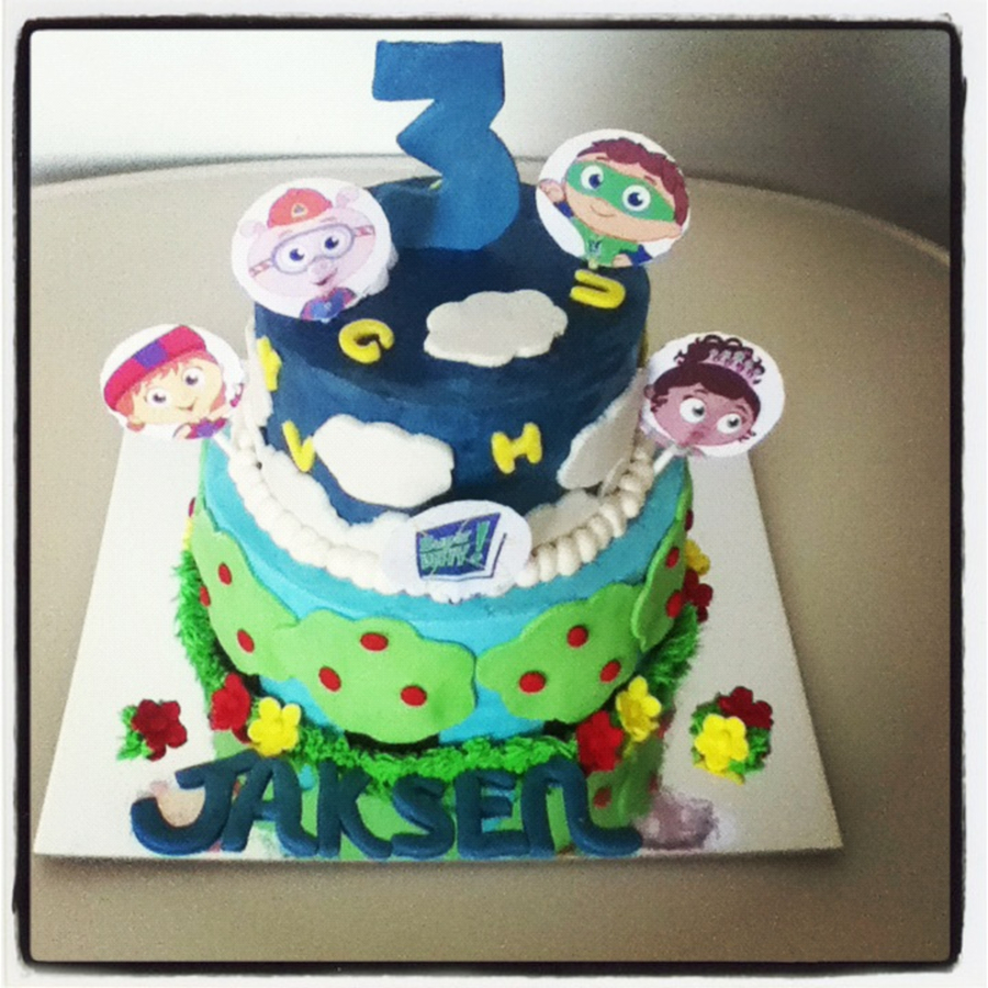 Super Why Cake on Cake Central