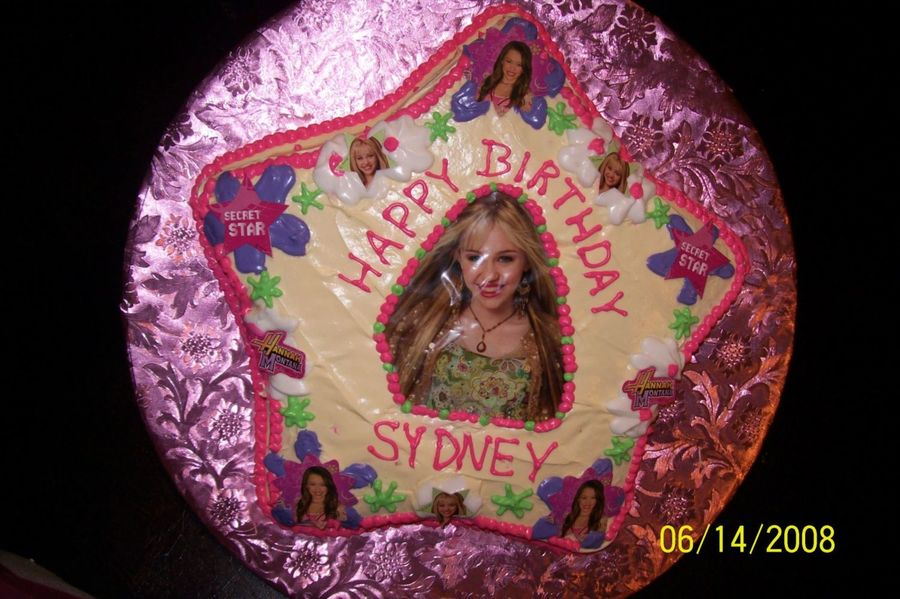 Hannah Montana Birthday Cake on Cake Central