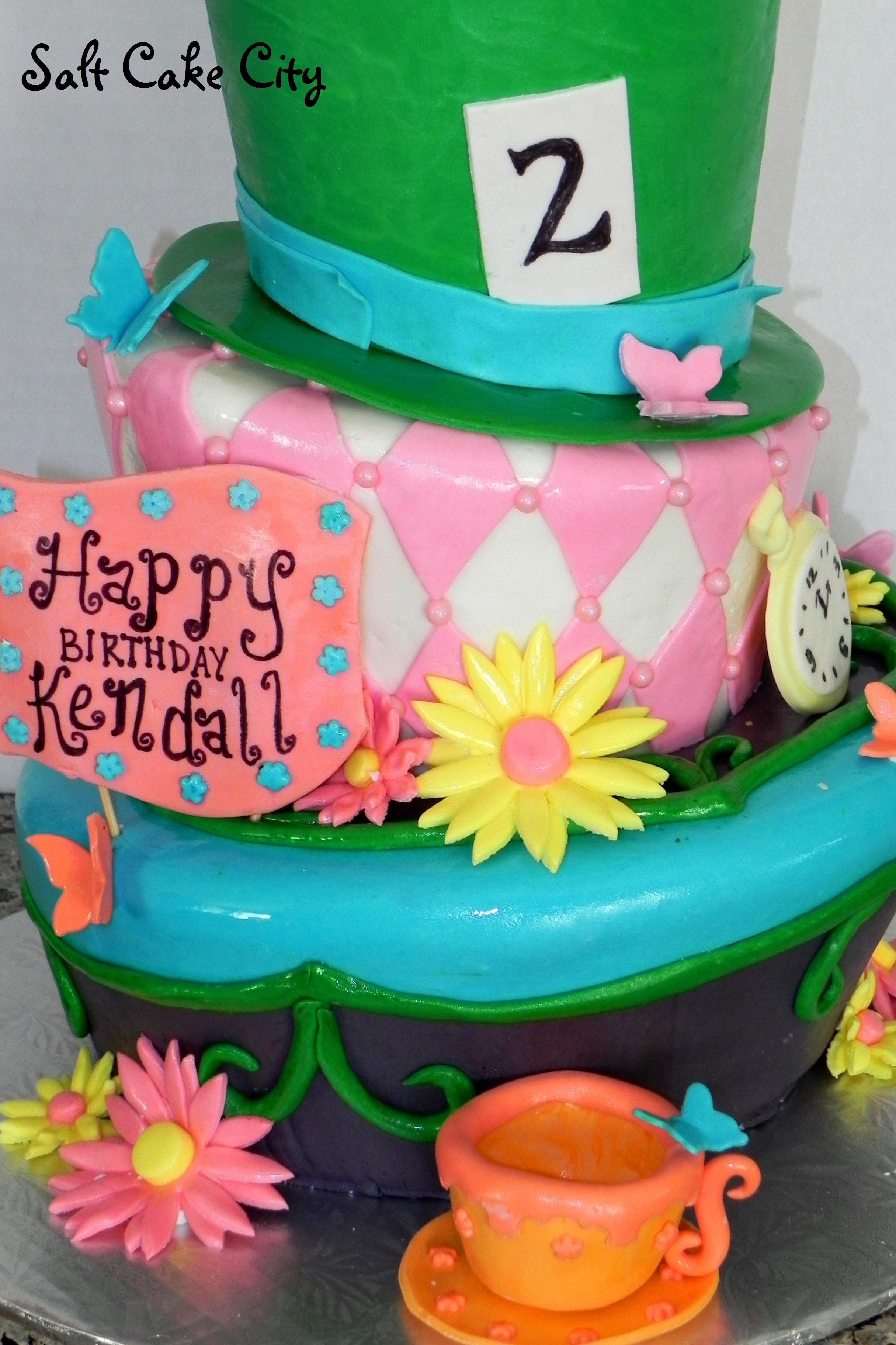 Mad Hatter Birthday Cake Cakecentral
