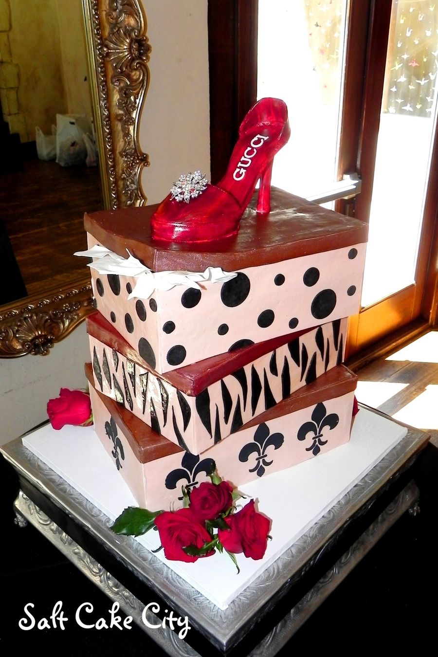 Red High Heel Shoe Wedding Cake on Cake Central