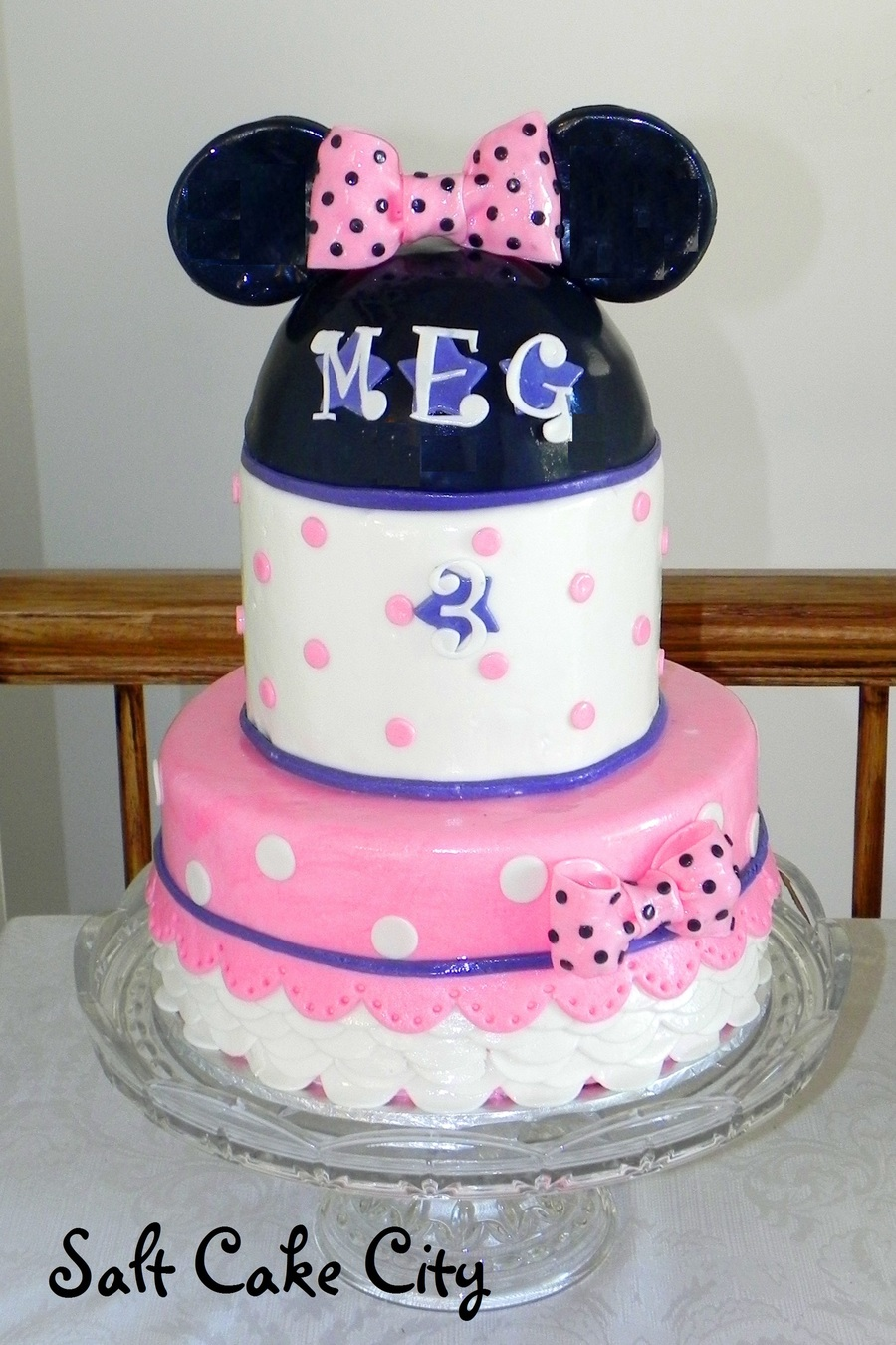 Minnie Mouse Dress Cake on Cake Central
