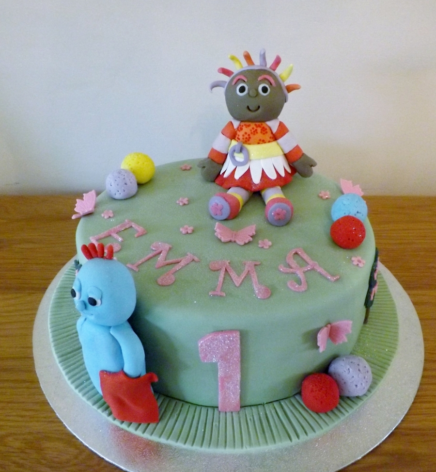 Emmas First Birthday Cake. on Cake Central