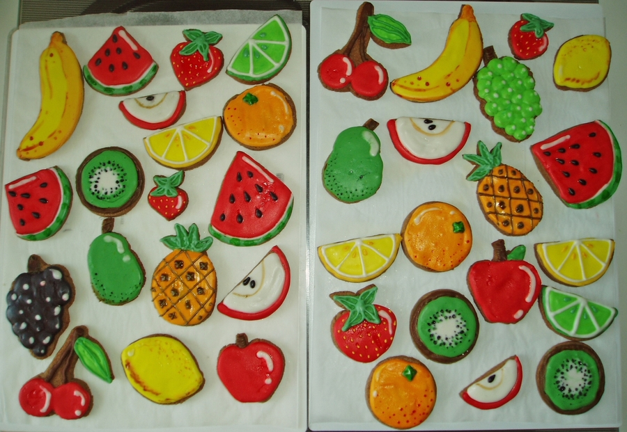 Fruit Cookies on Cake Central