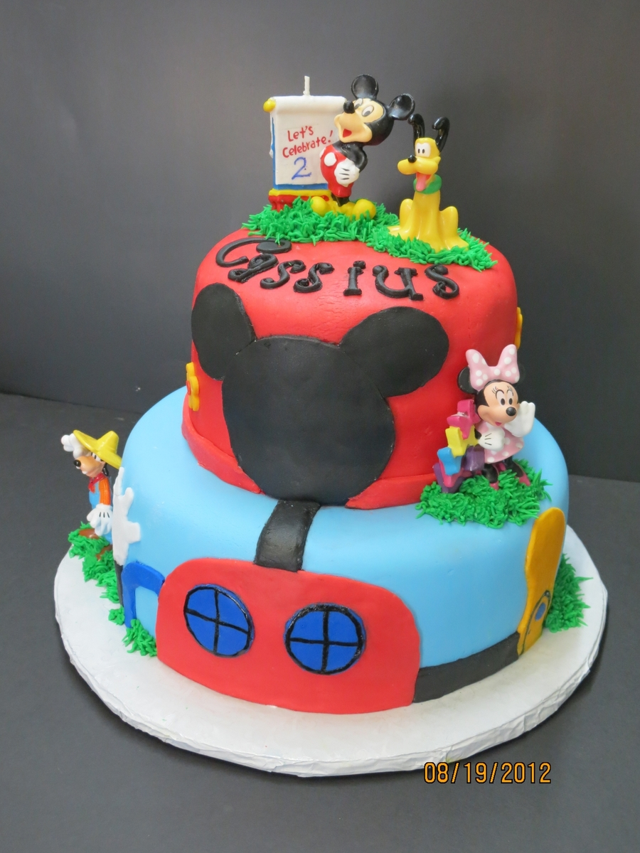 Mickey Mouse 2Nd Birthday on Cake Central