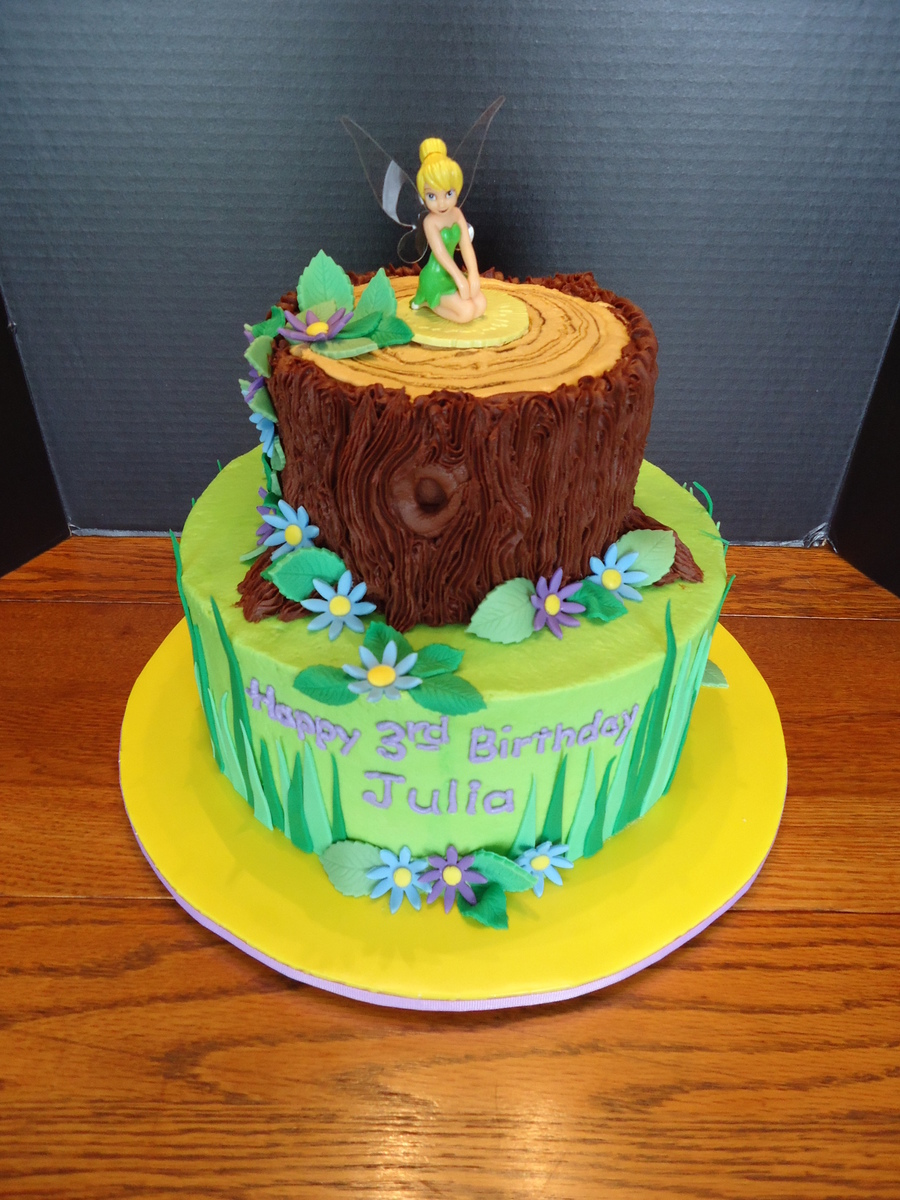 Julia's Tinkerbell Cake on Cake Central