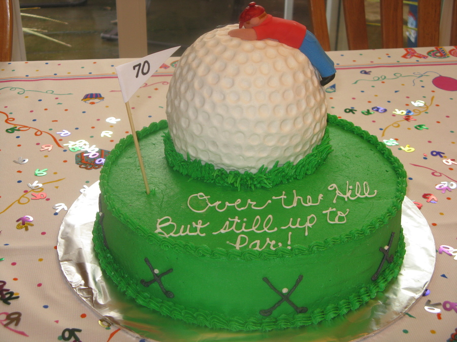 Over The Hill Cake Decorating Ideas