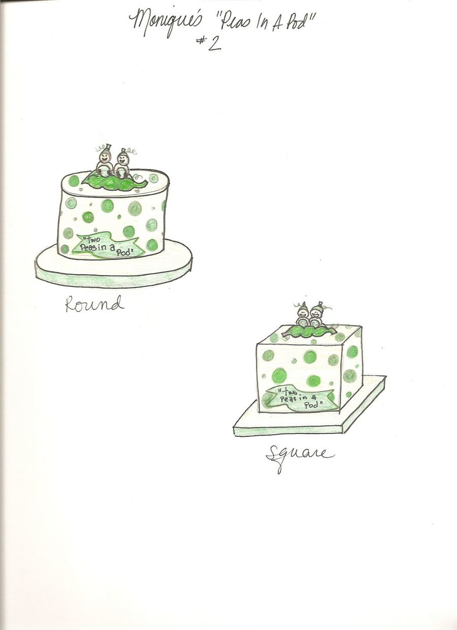 Peas In A Pod... Revised on Cake Central