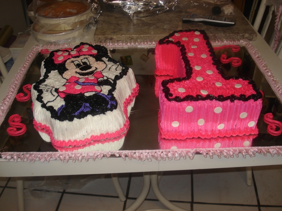Minniemouse&num,1 on Cake Central