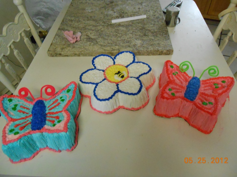 Flower Butterfly on Cake Central