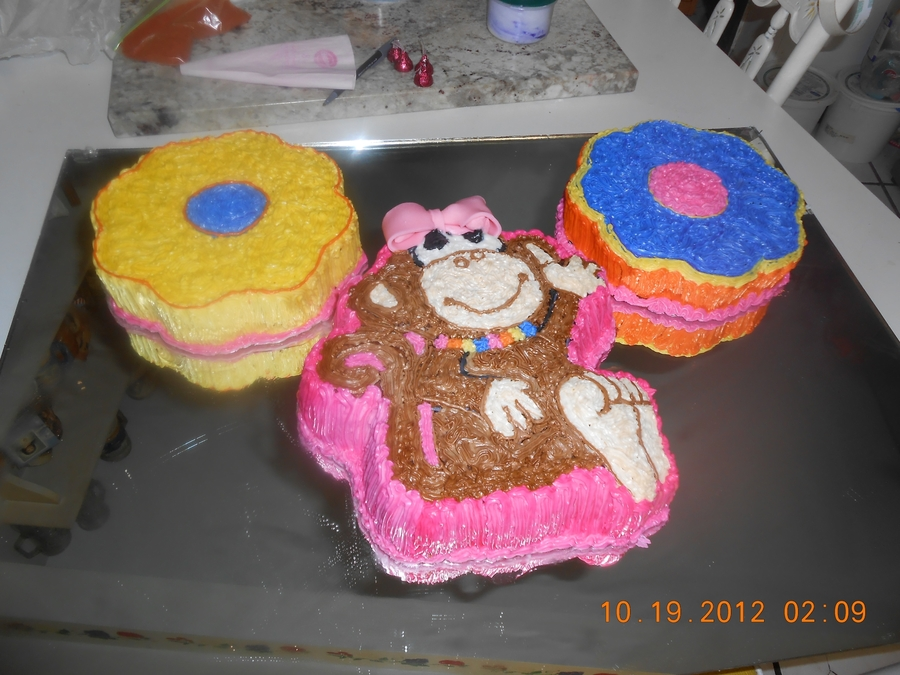 Monkeys Cake on Cake Central