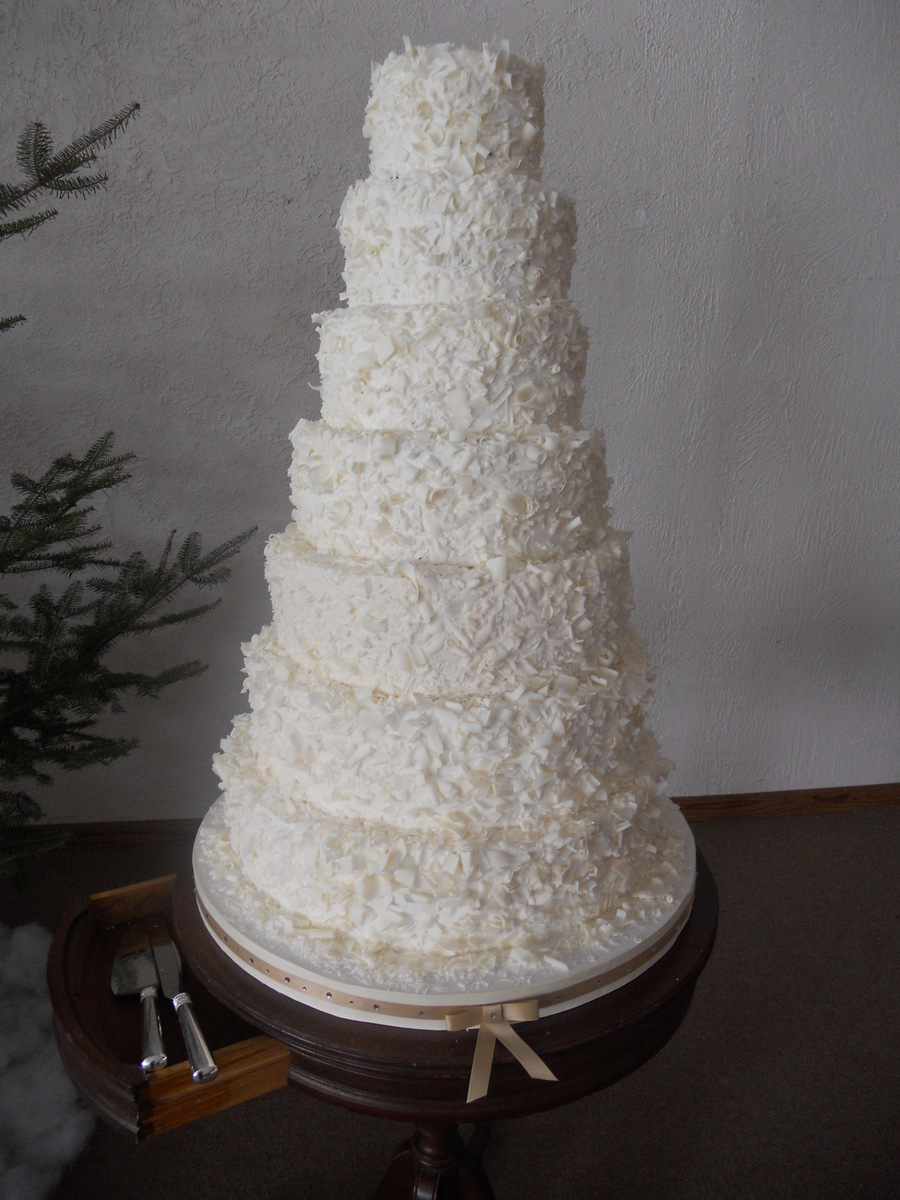 Wedding Coconut Cake