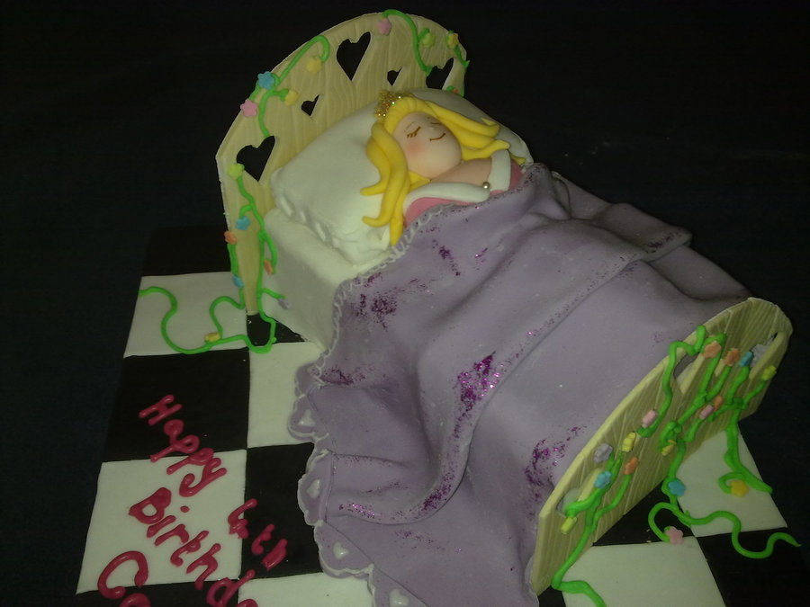Sleeping Beauty on Cake Central